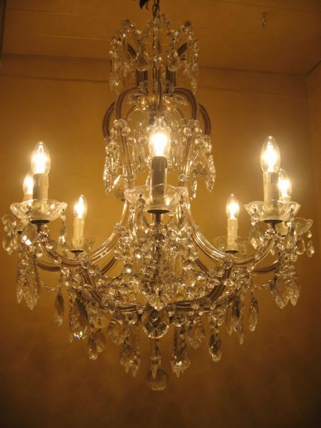 1930's Maria Theresa chandelier (12-133)