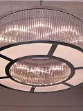 Crystal Bars Ring chandelier 100