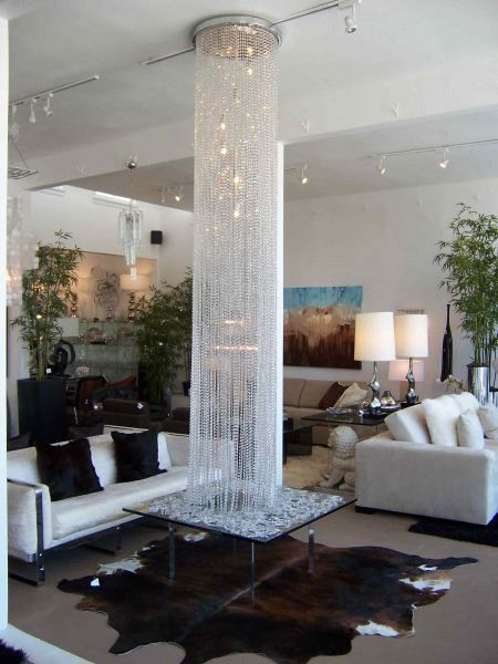 Diamante Round Chandelier