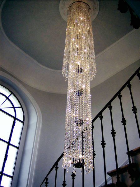 Diamante chandelier 2 tiers